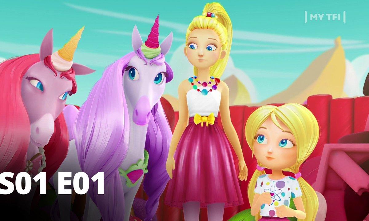Barbie dreamtopia - S01 E01 - La grange des licornes