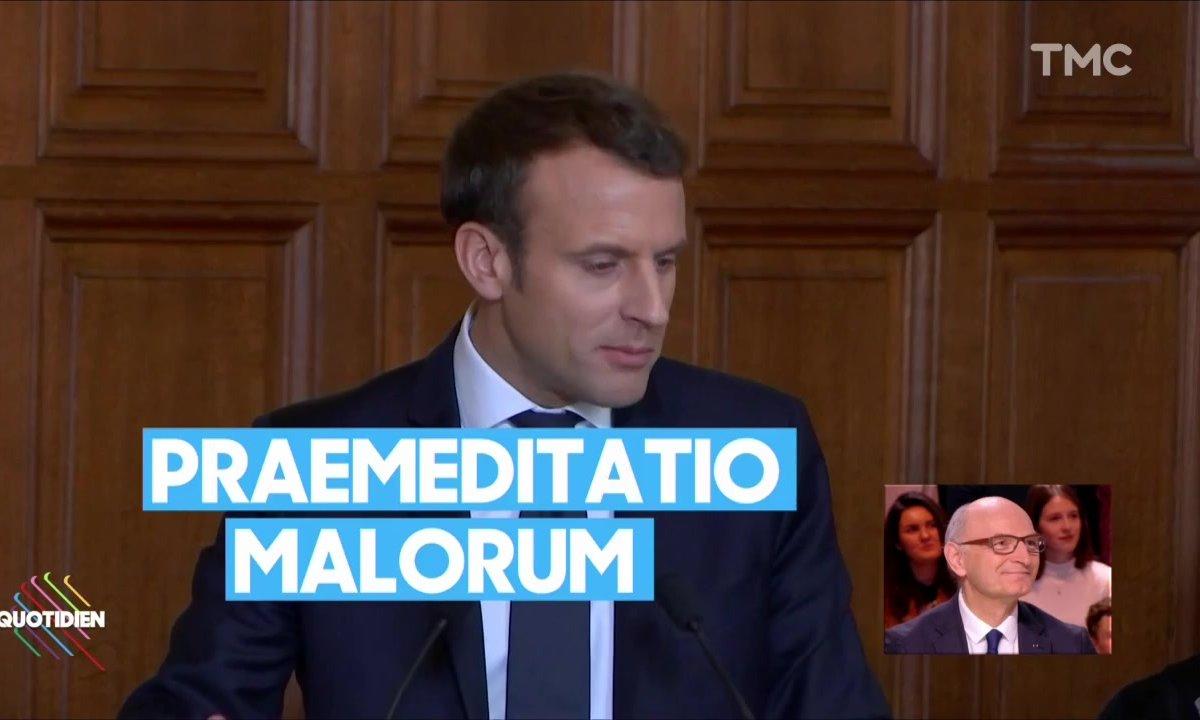 Battle de citations entre Emmanuel Macron et le président de la Cour des comptes