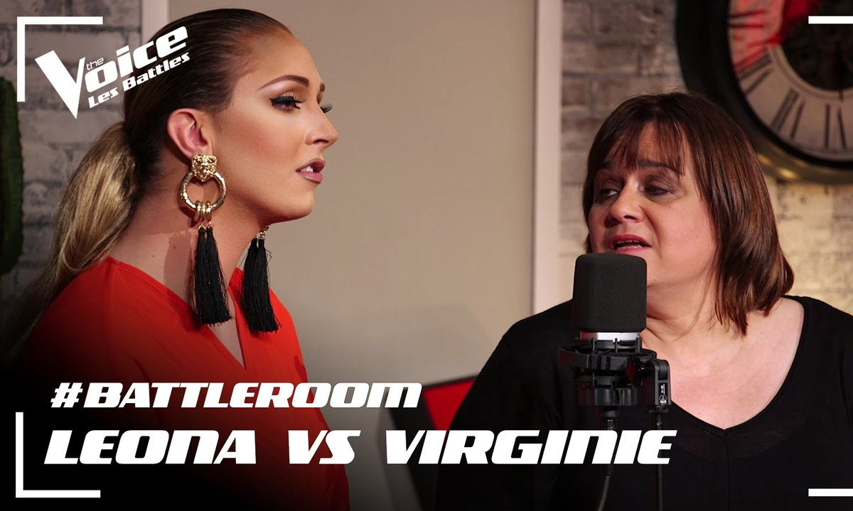 #BATTLEROOM – Léona Winter VS Virginie Vetrano – « A ma place » (Zazie et Axel Bauer)