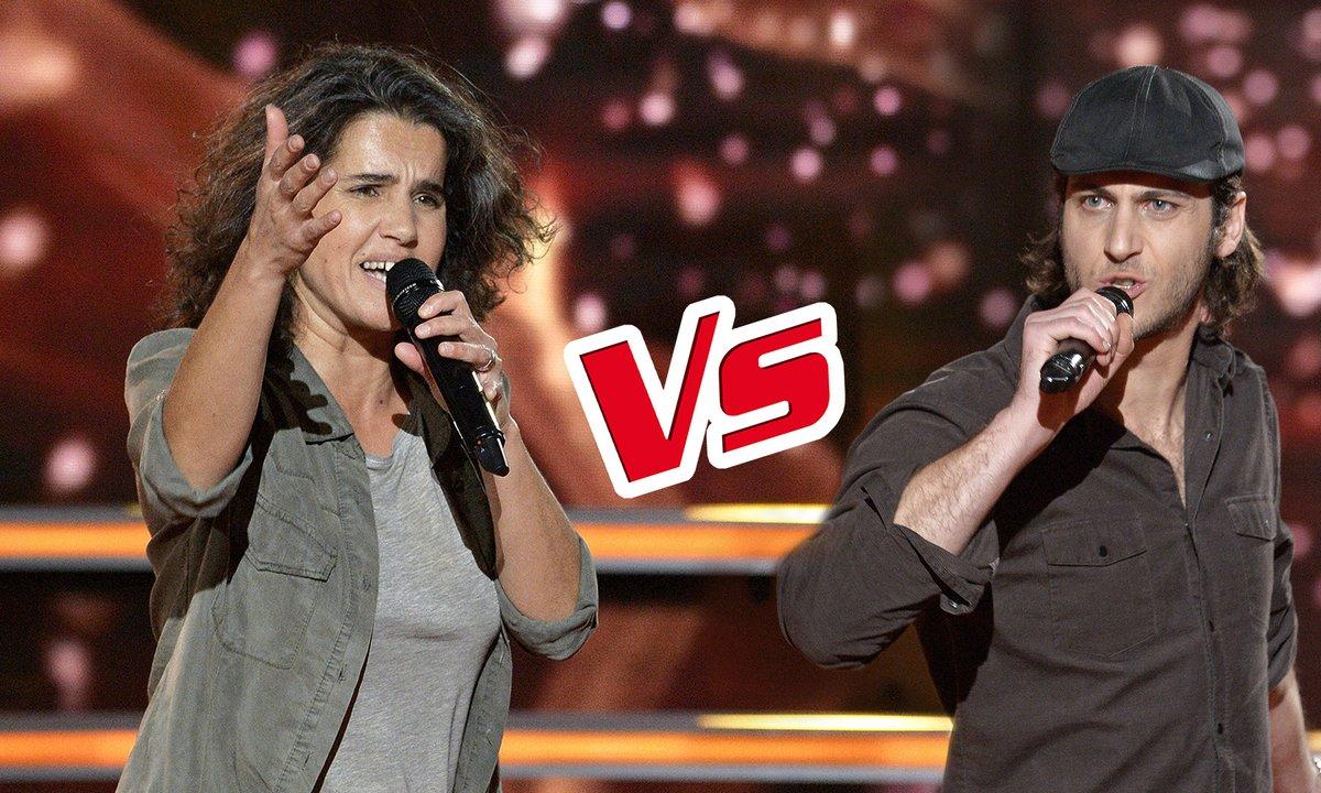 Marianne Aya Omac VS Romain - « Un Homme debout » (Claudio Capéo) (Saison 6)