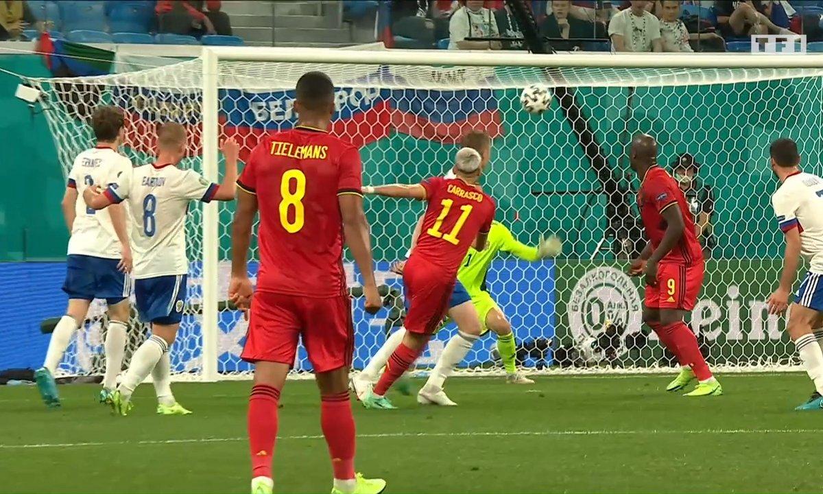 Belgique - Russie (2 - 0) : Voir l'occasion de Carrasco en vidéo