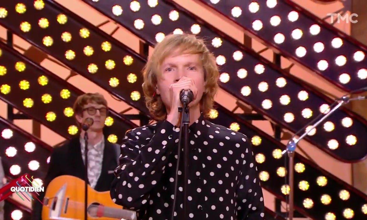 """Beck : """"Up all night"""" en live pour Quotidien"""