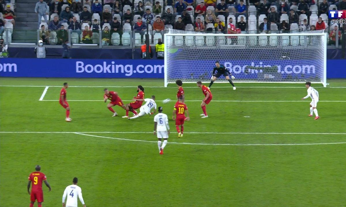 Belgique - France (2 - 1) - revoir le but de Karim Benzema