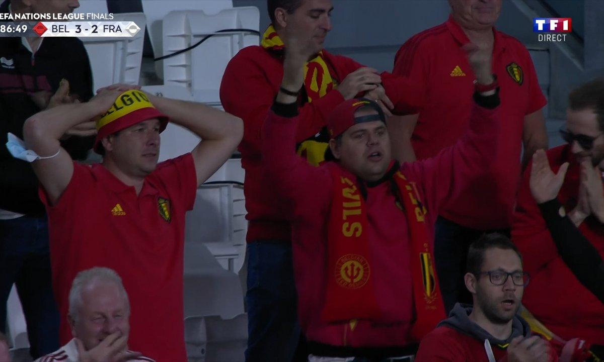 Belgique - France (2 - 2) - Revoir le but refusé de Lukaku