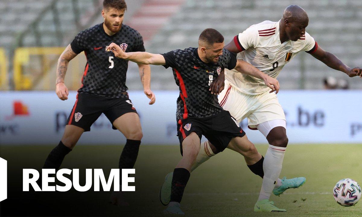 Belgique - Croatie : Voir le résumé du match en vidéo