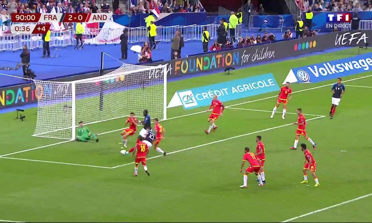 France - Andorre (3 - 0) : Voir le but de Ben Yedder en vidéo