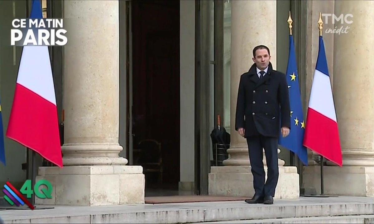 Les 4 Q -  Hamon soutenu par Hollande ?