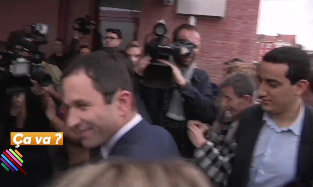 Benoit Hamon face à la trahison de Manuel Valls
