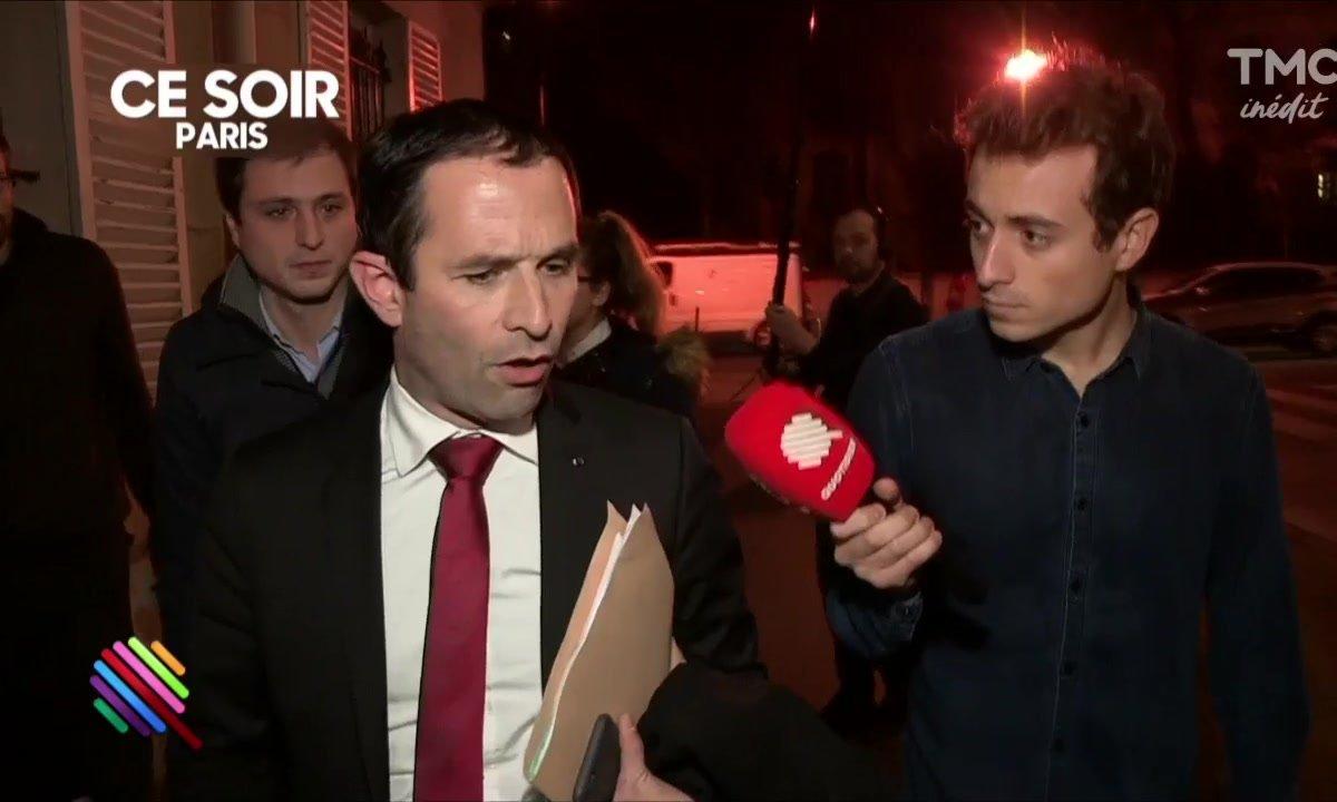 """Pour Benoit Hamon, """"François Hollande aurait dû aller à Alep"""""""
