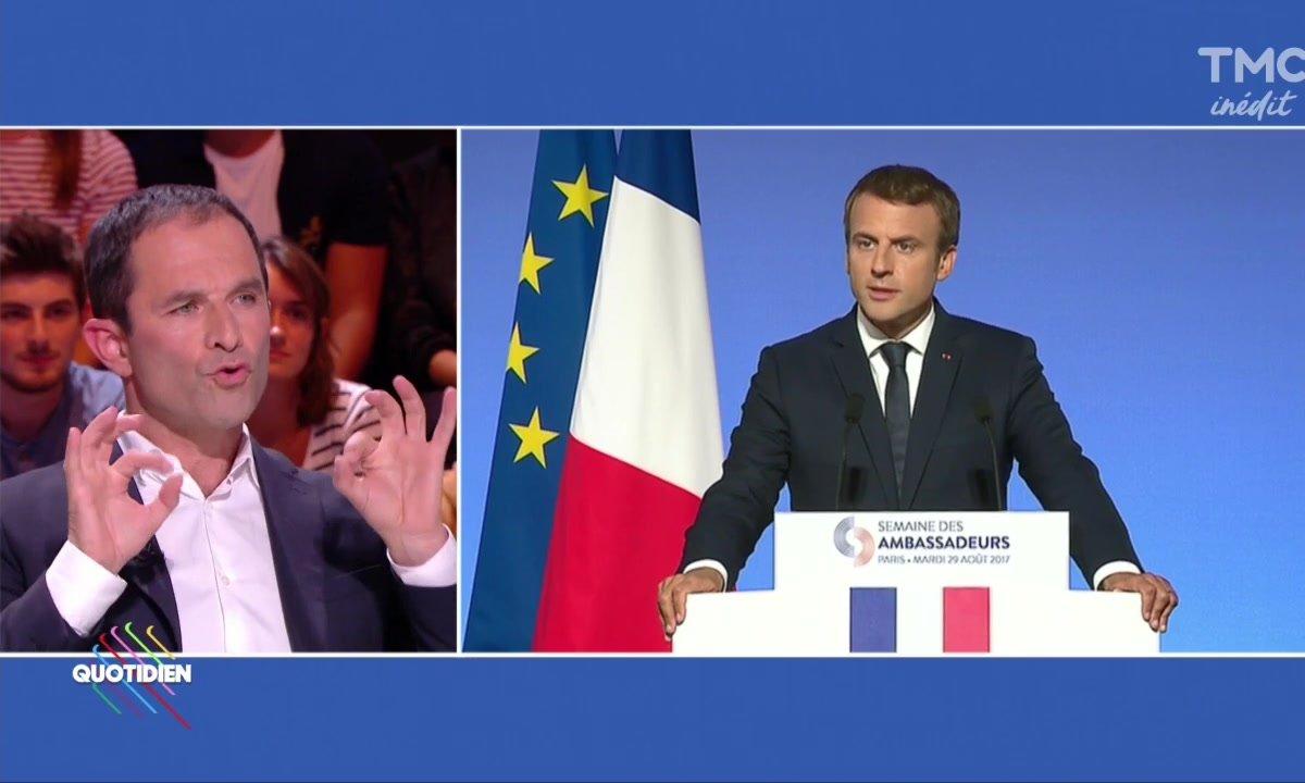 "Benoît Hamon : ""Macron en un mot : menteur !"""