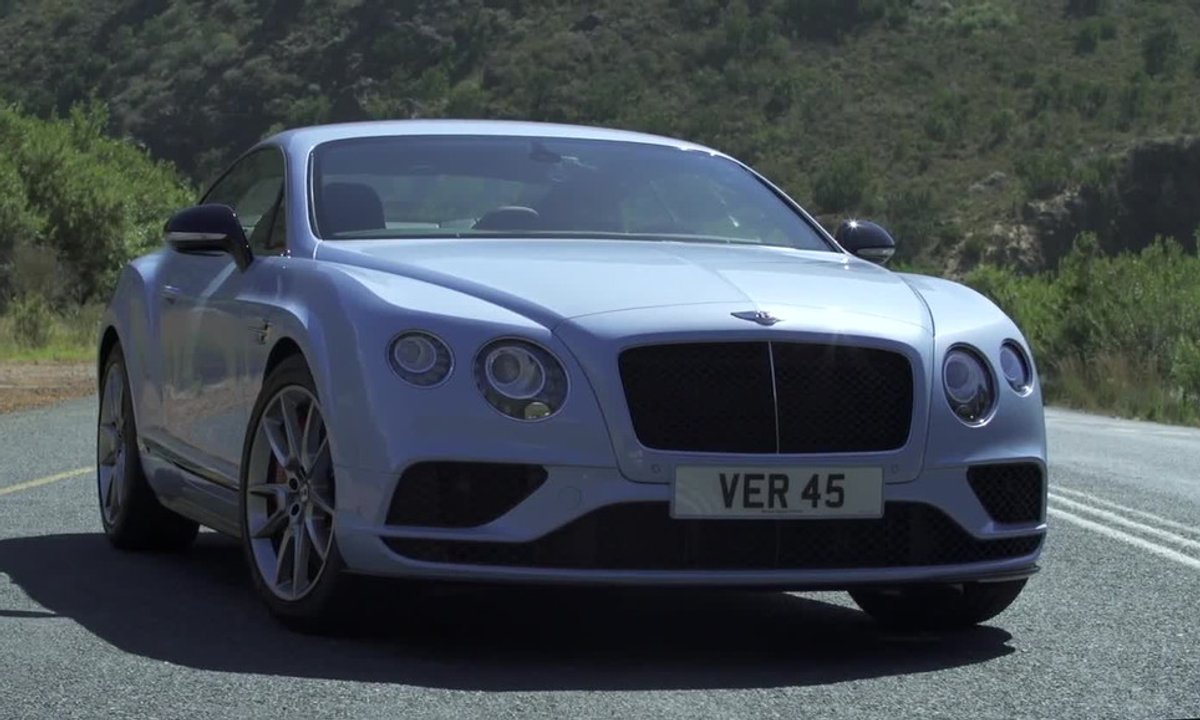 Bentley Continental GT V8 S 2015 : présentation officielle