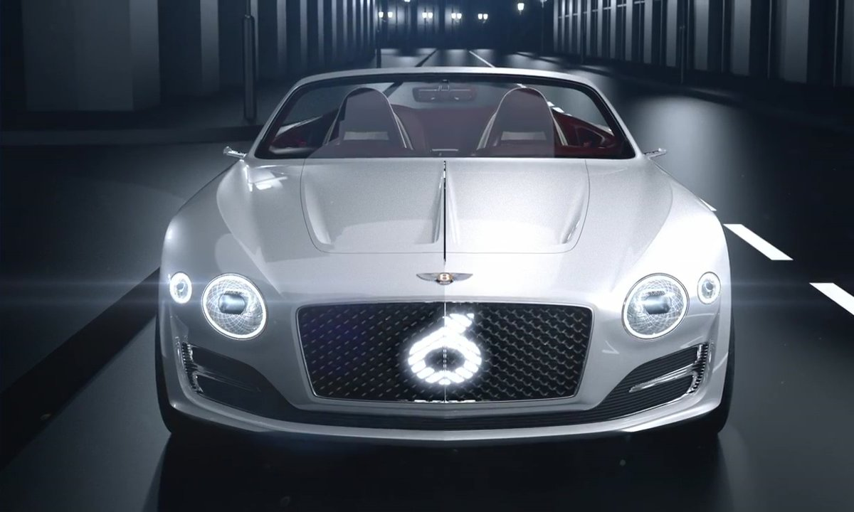 Bentley EXP 12 Speed 6e Concept 2017 : Présentation officielle