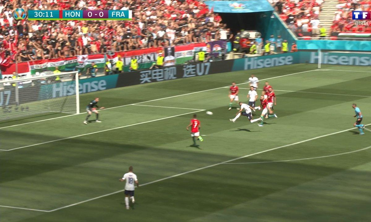 Hongrie - France (0 - 0) : Voir la grosse occasion de Benzema en vidéo