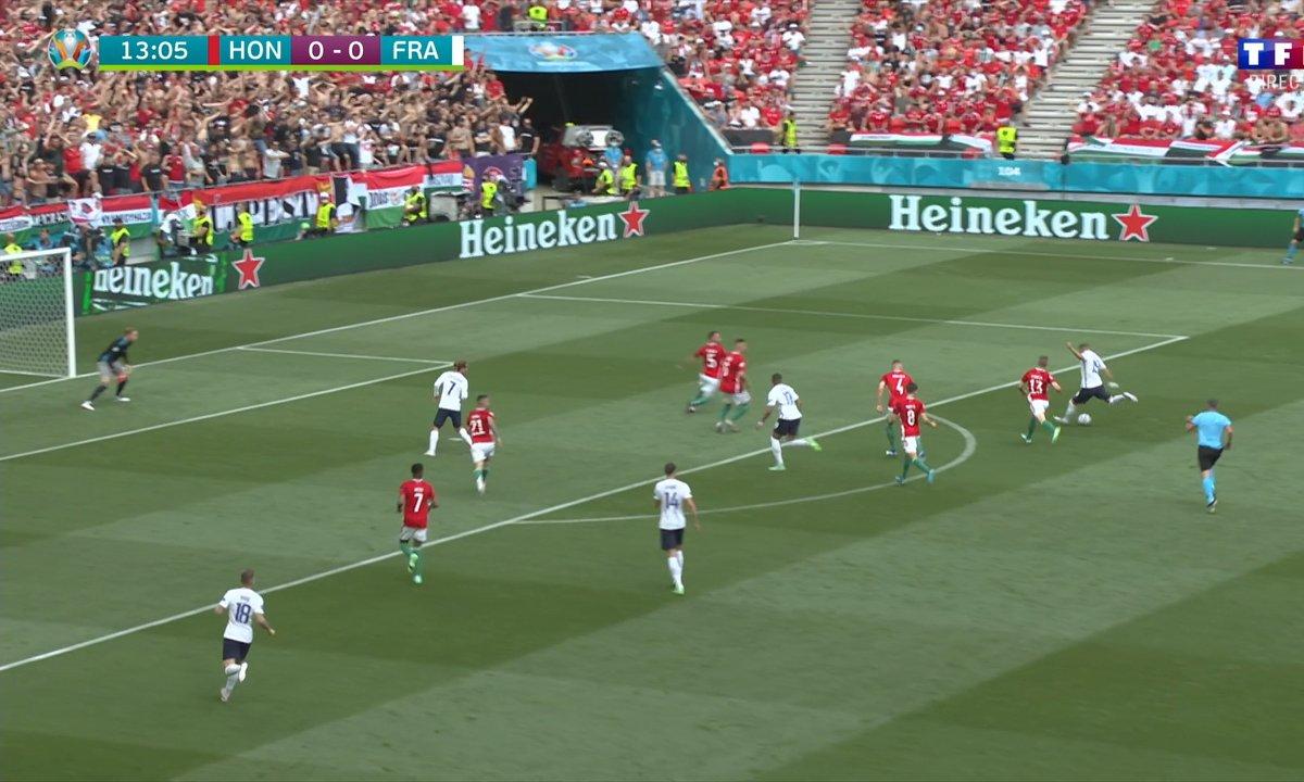 Hongrie - France (0 - 0) : Voir l'occasion de Benzema en vidéo