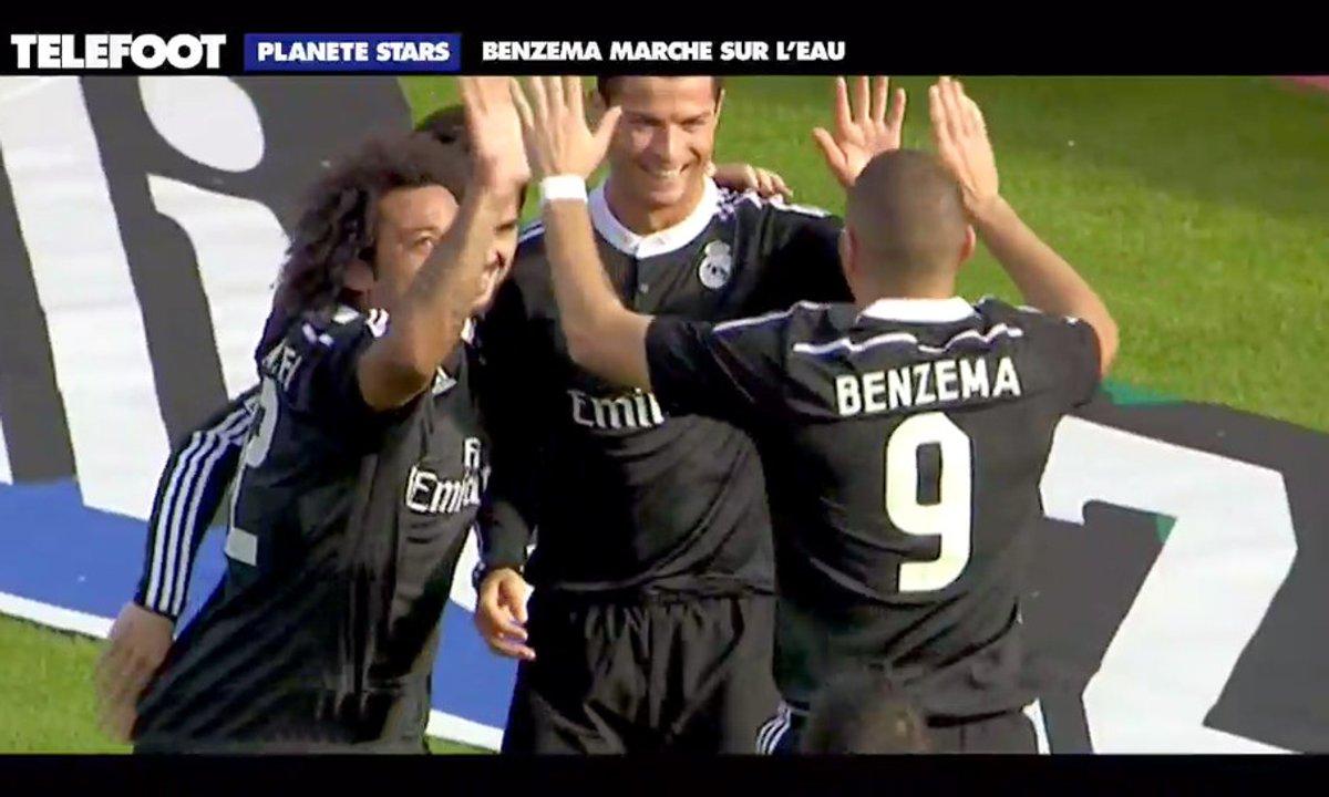 Planète Stars : Benzema marche sur l'eau, Ribéry décisif...