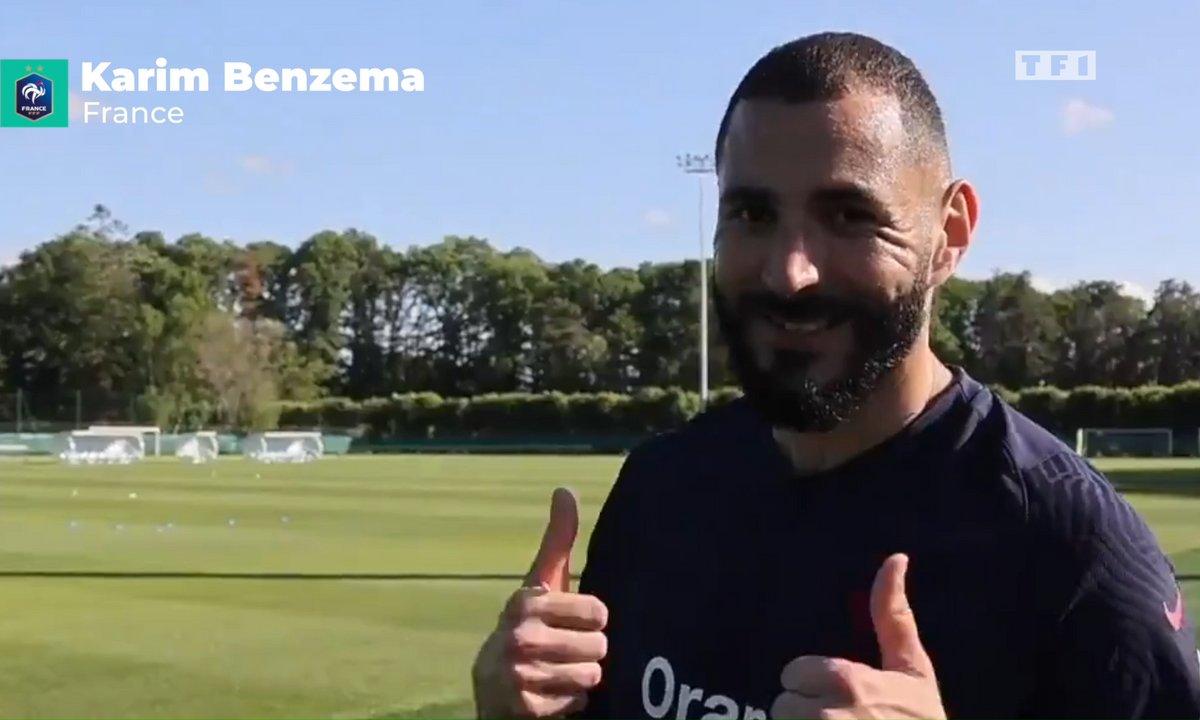 Equipe de Fance : Benzema rassure sur son état de santé
