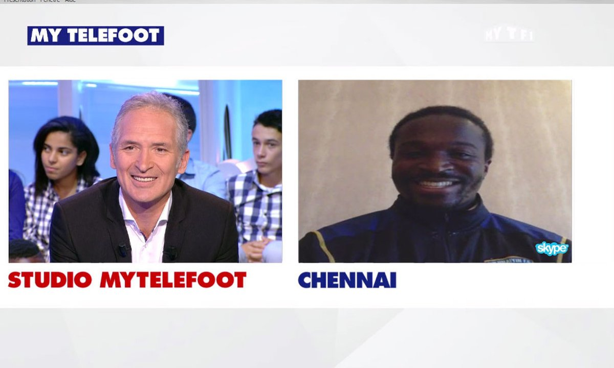 MyTELEFOOT - Bernard Mendy est notre invité Skype !