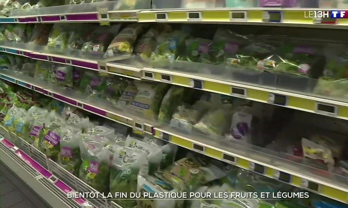 Bientôt la fin du plastique pour les fruits et légumes