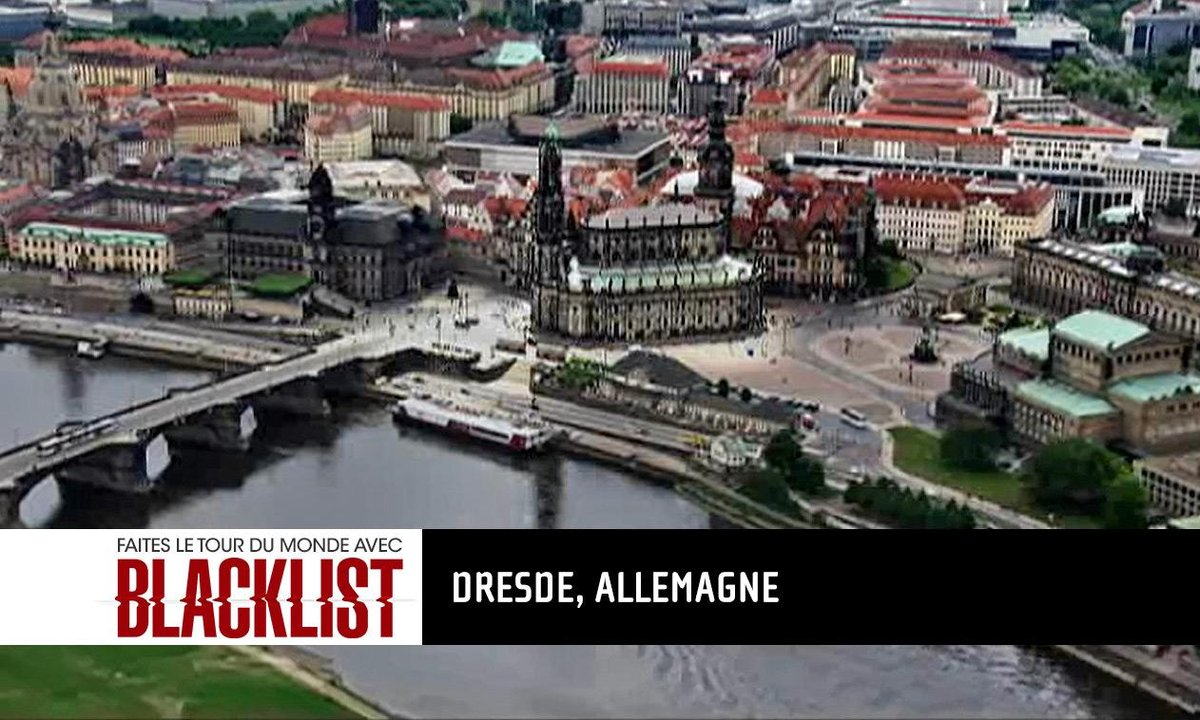 Destination #2 Allemagne: embarquez pour le tour du monde Blacklist
