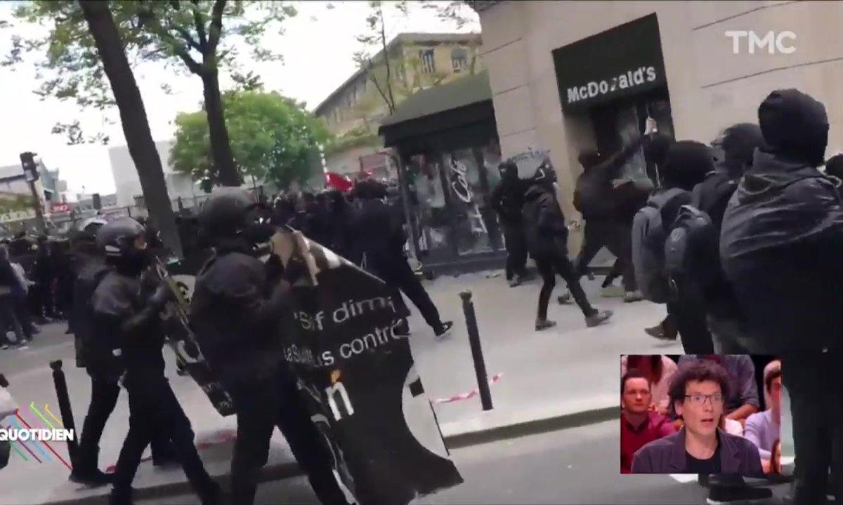 Qui sont les blacks blocs, responsables des violences du 1er mai ?