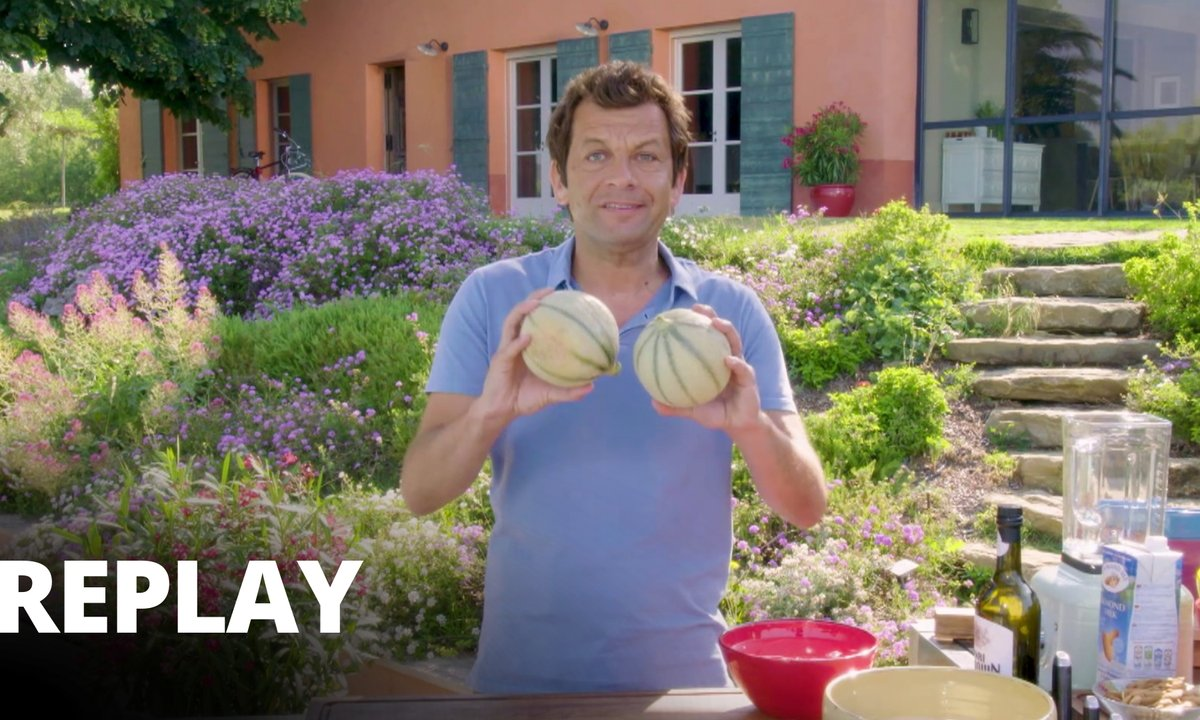 Blanc manger au melon