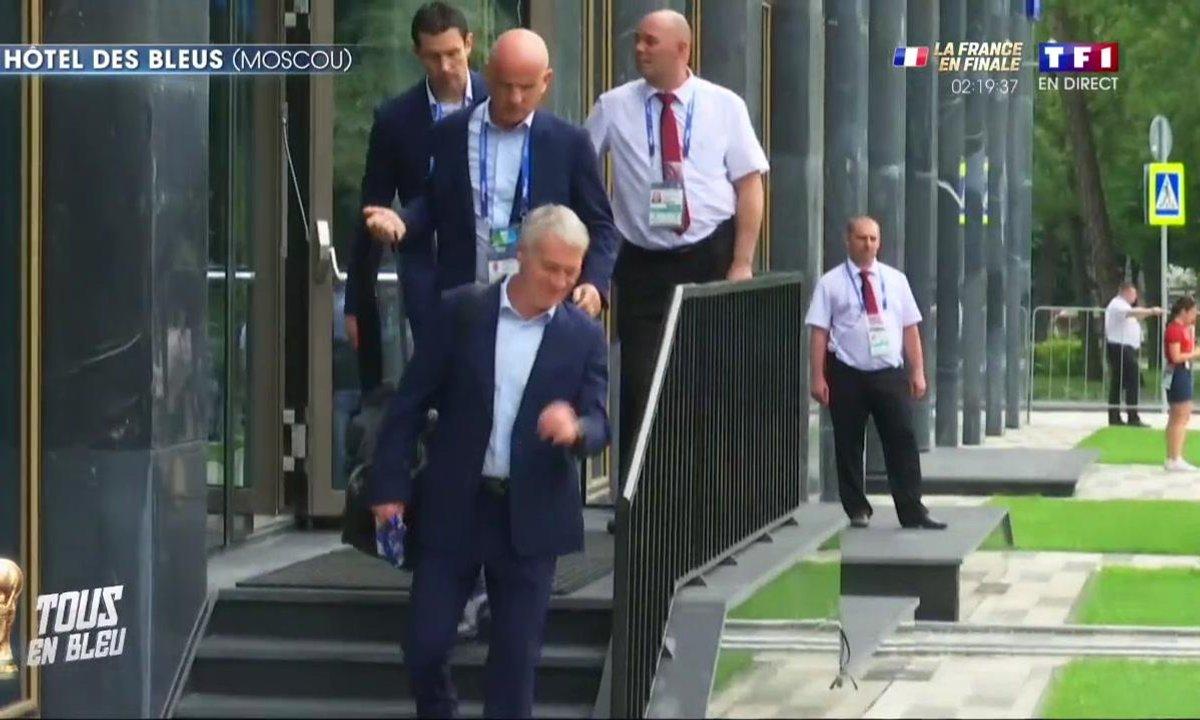 France - Croatie : Les Bleus quittent leur hôtel !