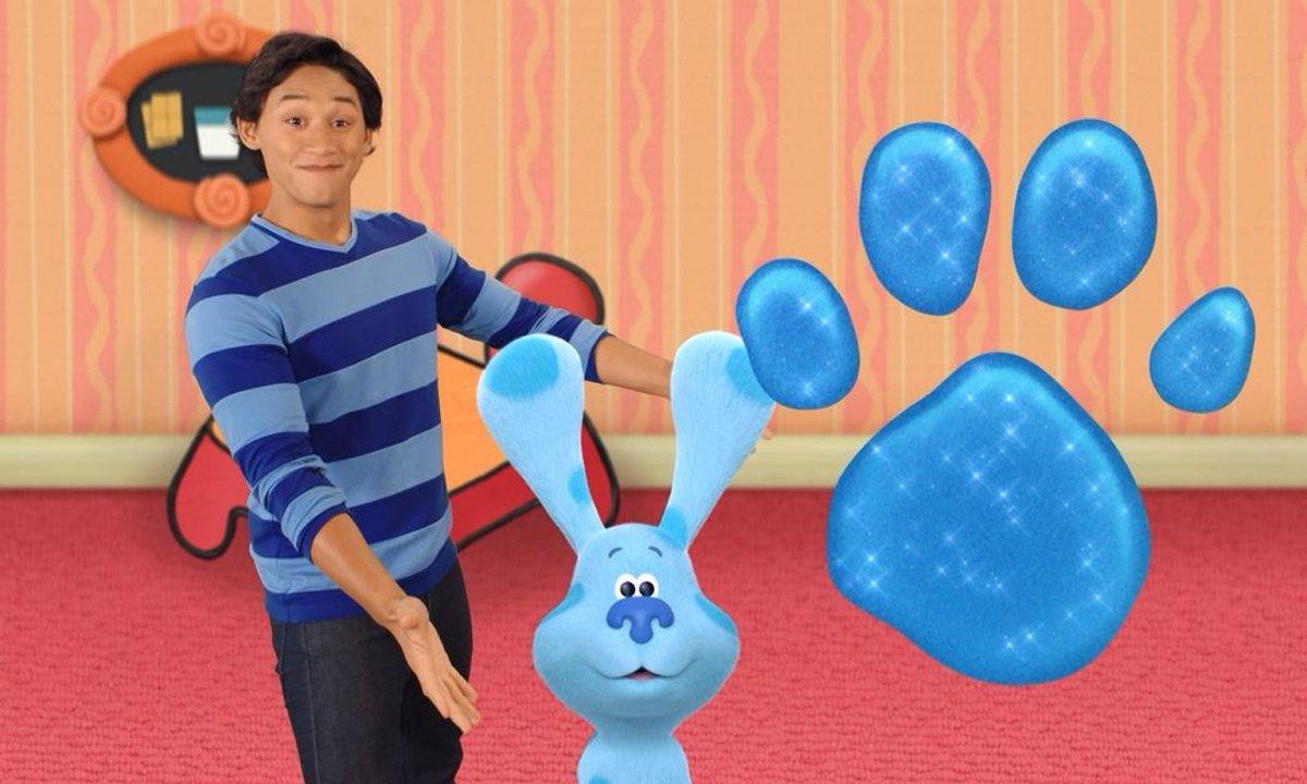 Blue's Clues & You ! : Blue et ses amis - La visite de Magenta - Extrait