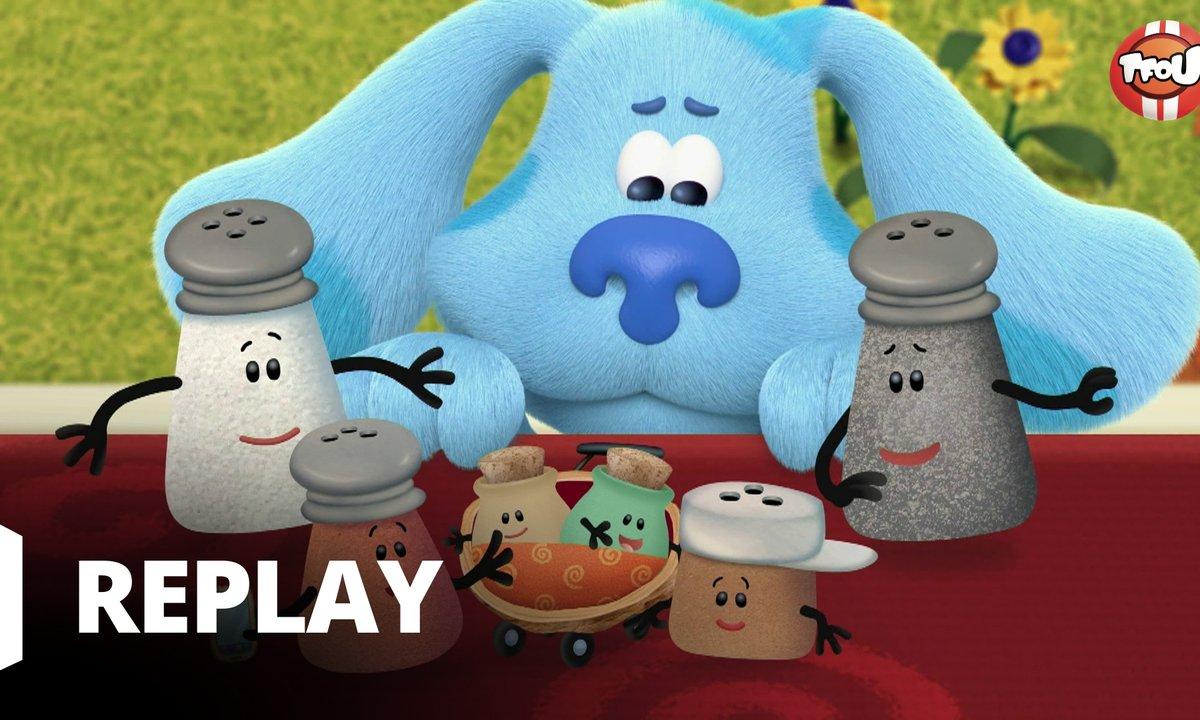 Blue's Clues & You ! : Blue et ses amis - Tous heureux avec Blue