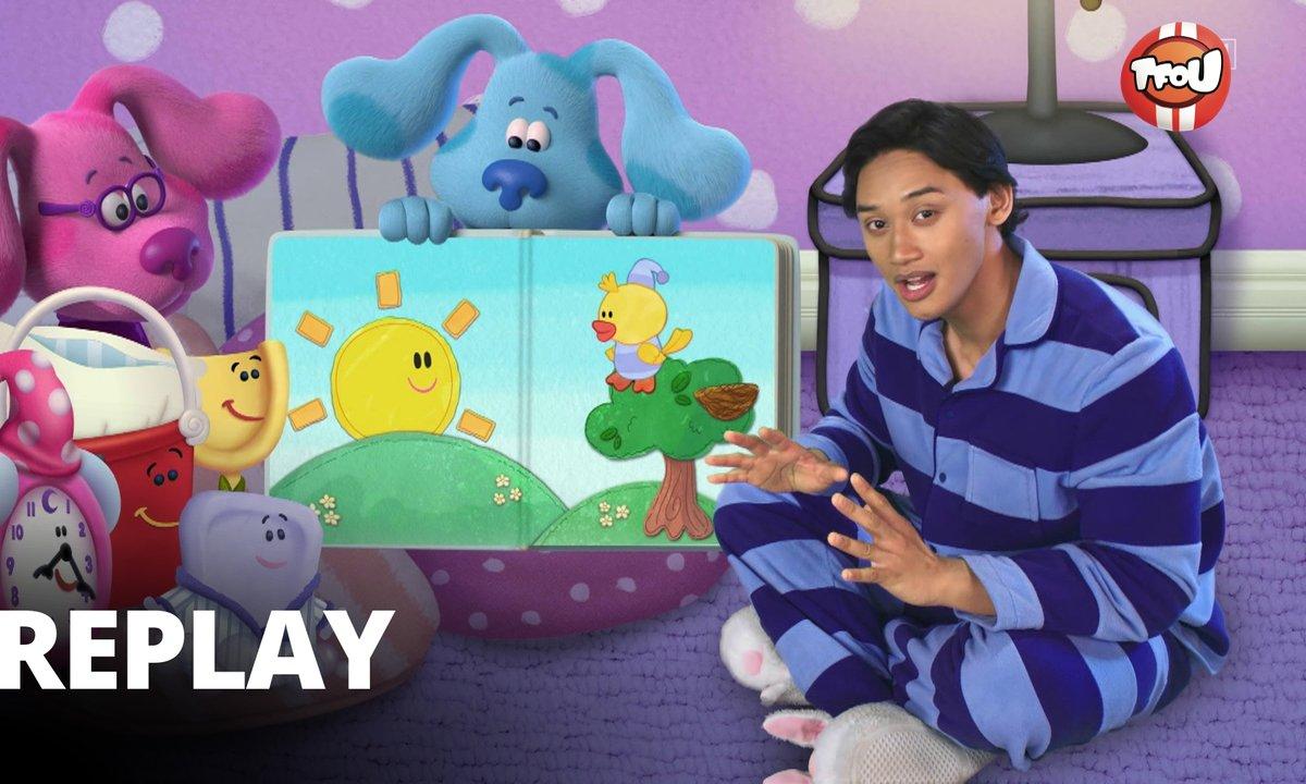 Blue's Clues & You ! : Blue et ses amis - Une soirée pyjama avec Blue