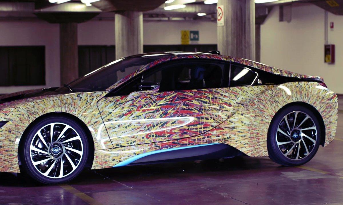 BMW i8 Futurism Edition 2016 en présentation officielle