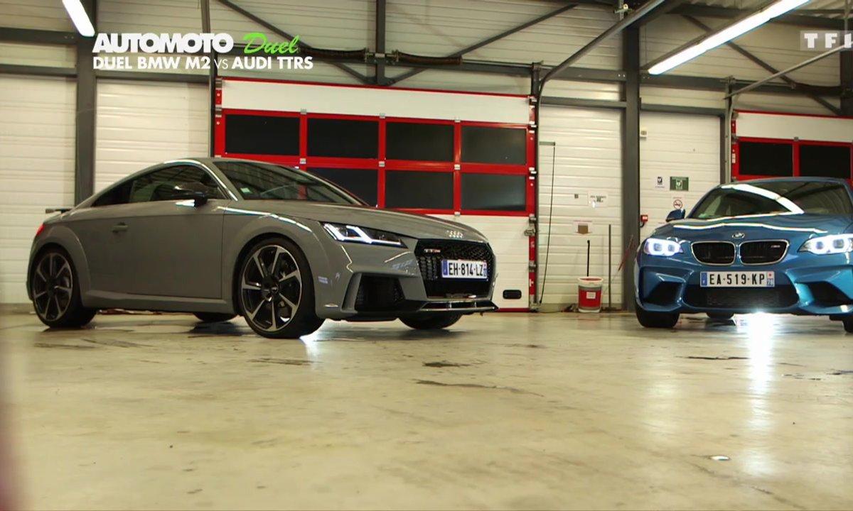 Duel : BMW M2 Coupé vs Audi TT RS sur circuit !