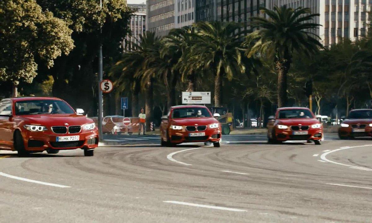 Insolite : BMW crée le Driftmob avec cinq M235i !