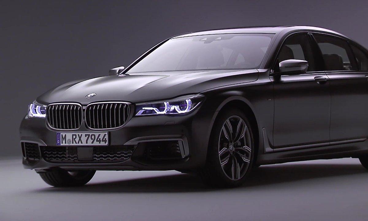 BMW présente la puissante et luxueuse M760Li xDrive 2016