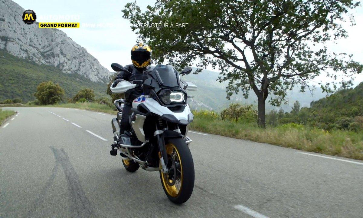 Grand Format : BMW côté moto