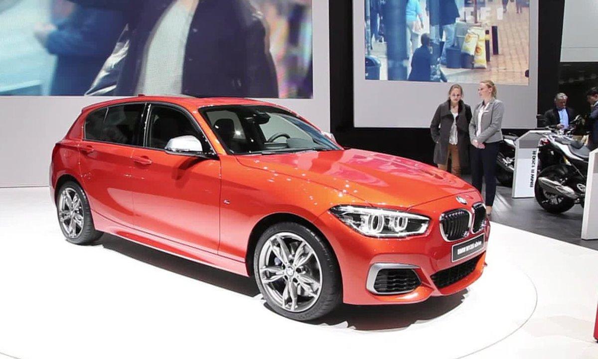 La BMW Série 1 se restyle au Salon de Genève 2015