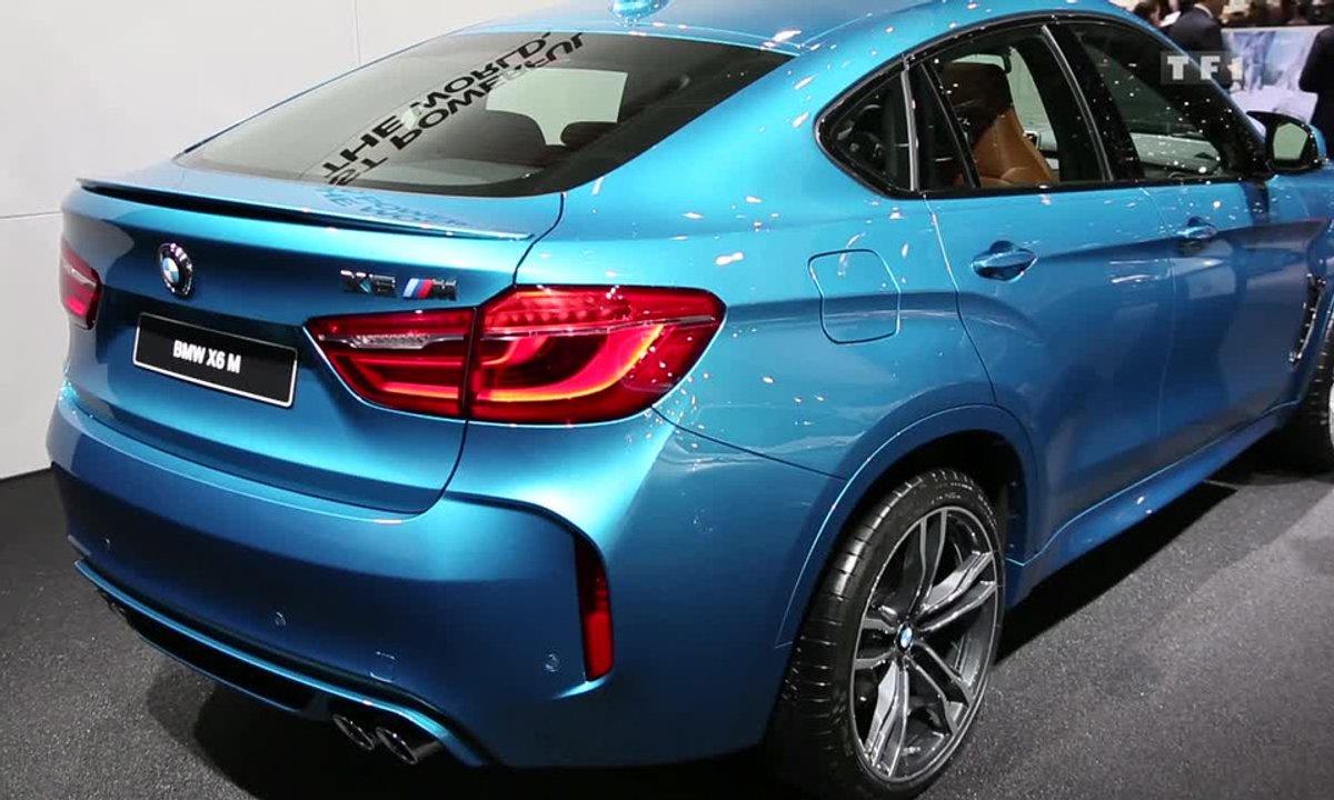 La nouvelle BMW X6 M au Salon de Genève 2015