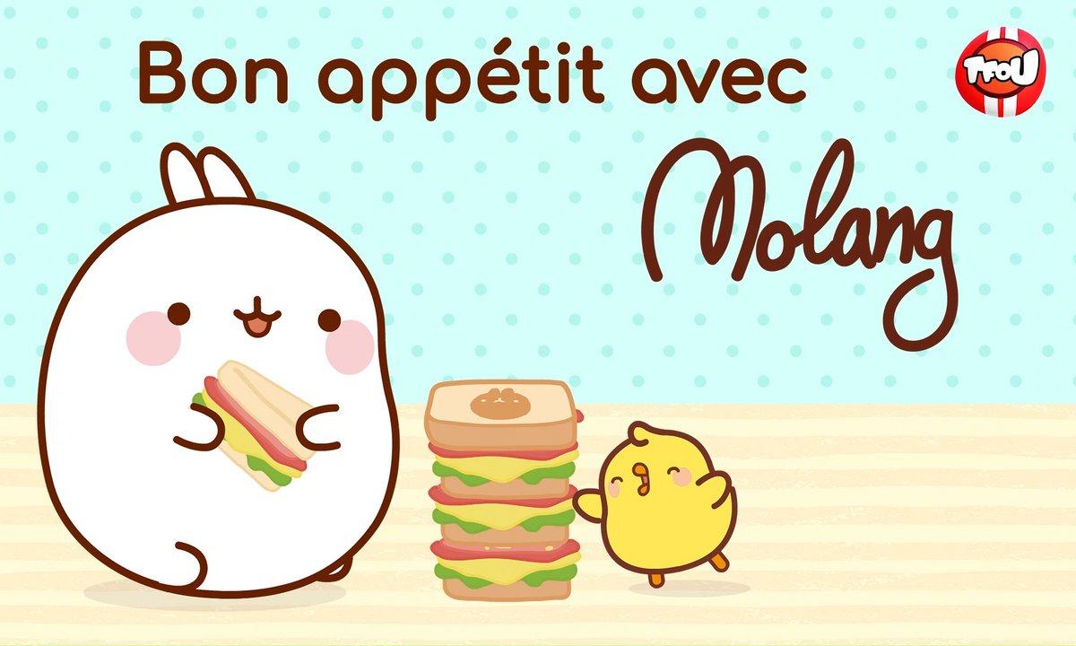 Molang - Compilation Bon Appétit - My Best Friend