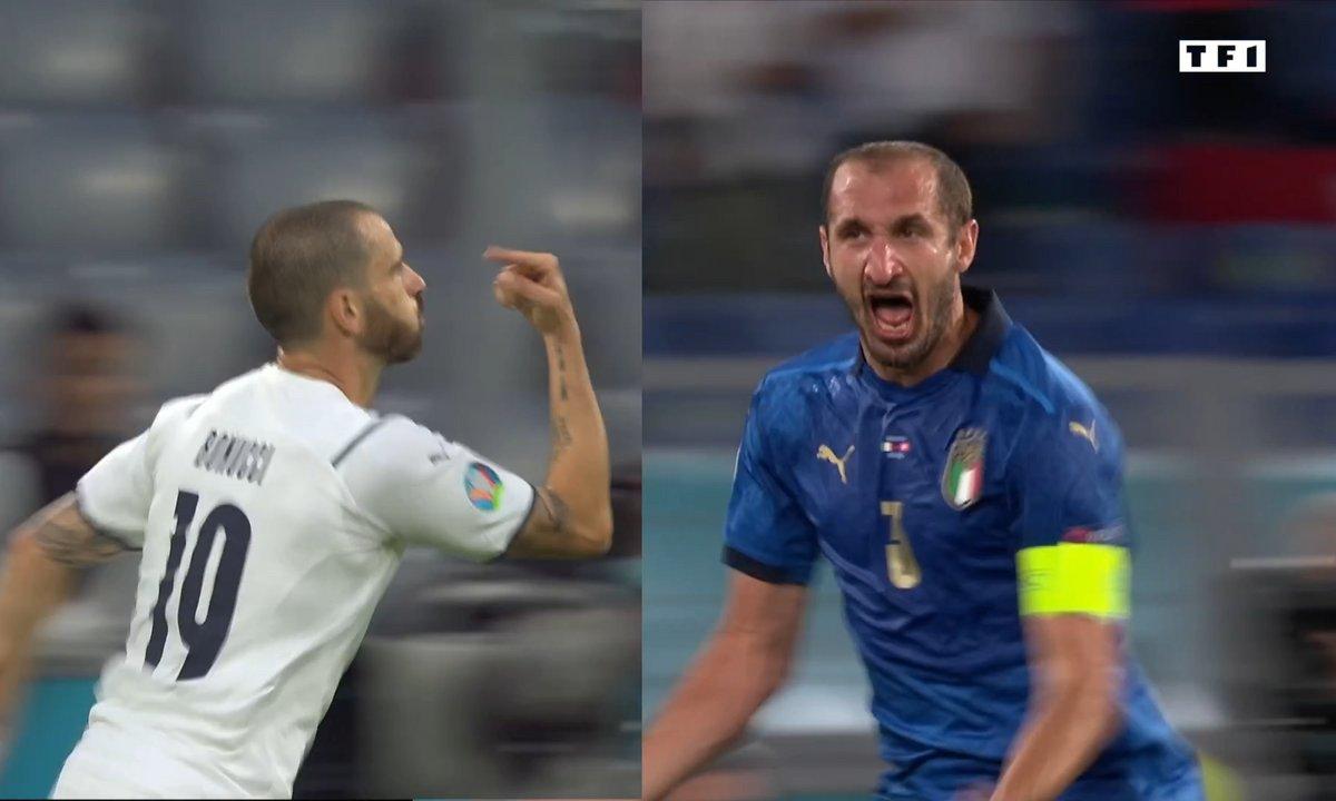 Bonucci / Chiellini : meilleure charnière de l'Euro ?
