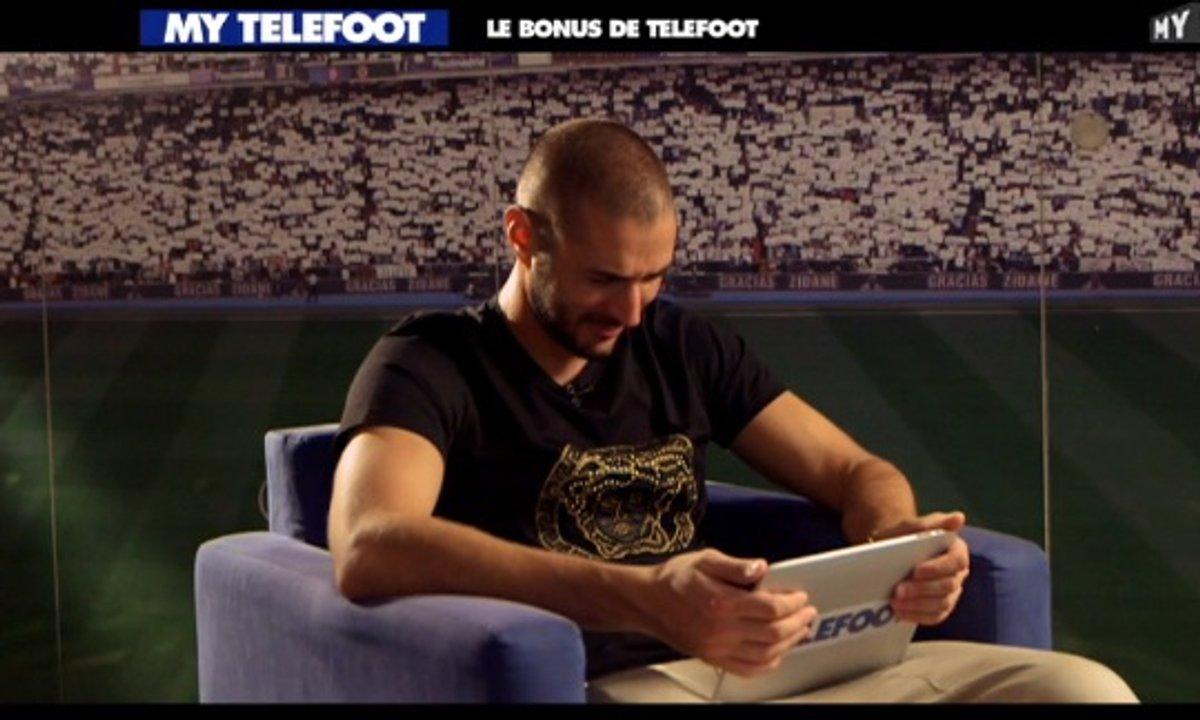 MyTELEFOOT - Le bonus Telefoot : Benzema sur la coiffure de Griezmann