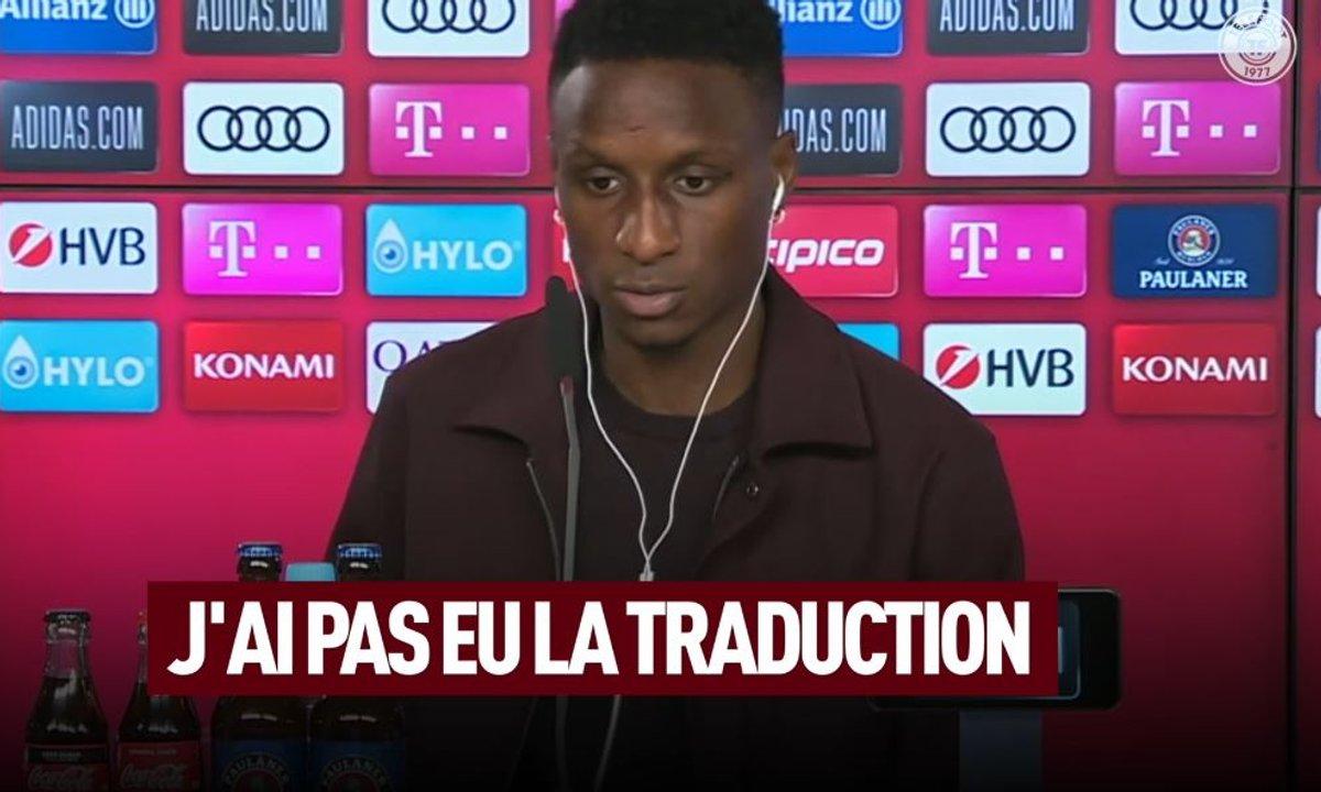 VIDEO - La première conf' de presse compliquée de Bouna Sarr au Bayern