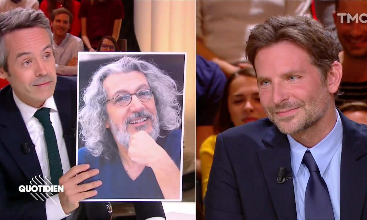 """Bradley Cooper prêt à tourner un film français : """"Alain Chabat est génial, Omar Sy est un très bon acteur"""""""