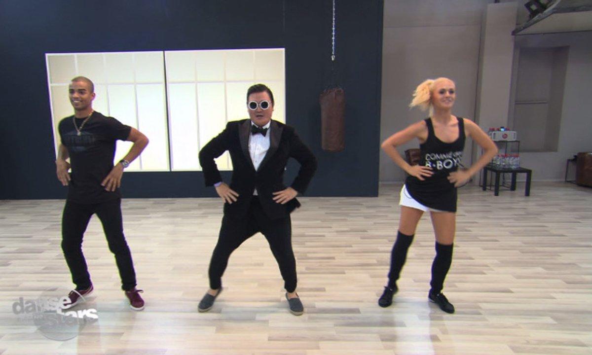 #DALS Répétitions : Brahim Zaibat a le « Gangnam Style »