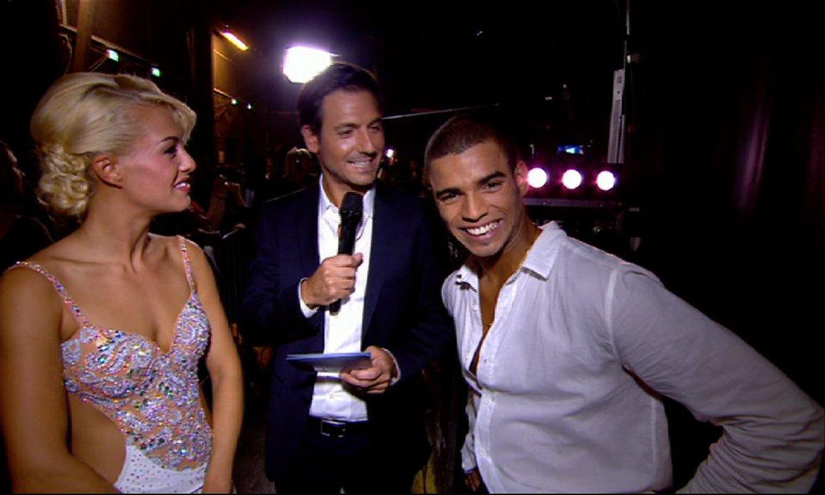#DALS Interview : Brahim Zaibat et Katrina Patchett très satisfaits de leur prestation !