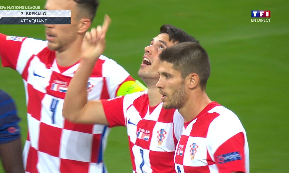 France - Croatie (2 - 2) : Voir le but de Brekalo en vidéo
