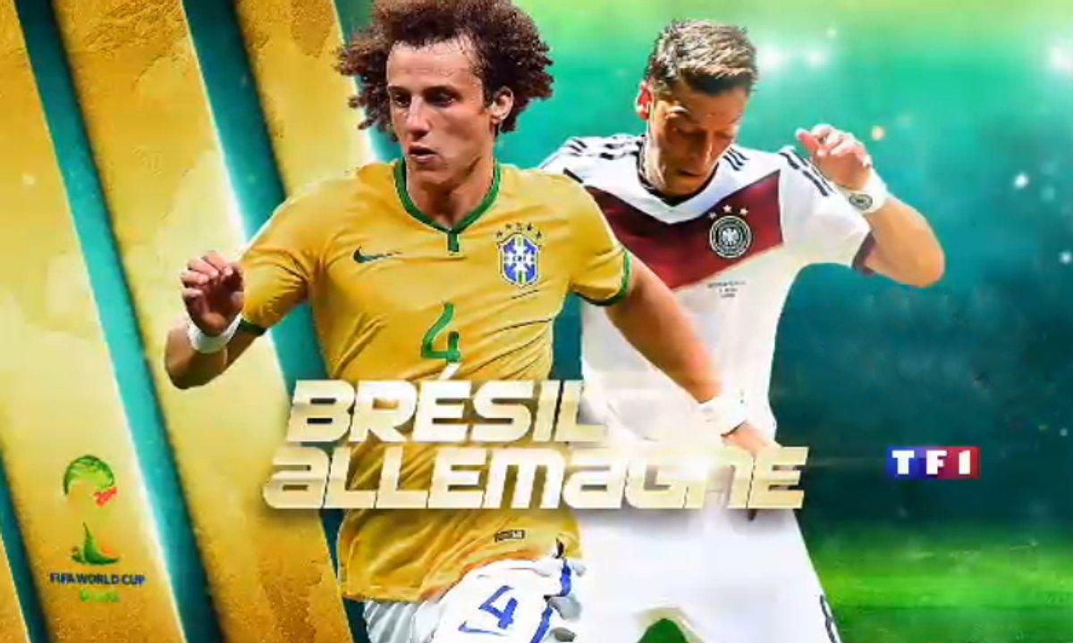 Brésil-Allemagne : Suivez le match en streaming vidéo