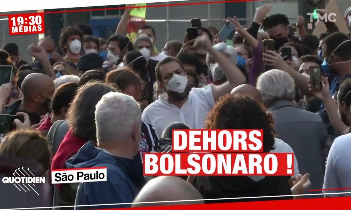 Brésil : Jair Bolsonaro n'a jamais été plus impopulaire