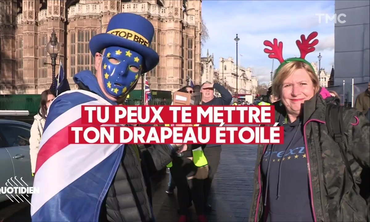 Brexit J-100 : entre les pro et les anti, le pays se déchire