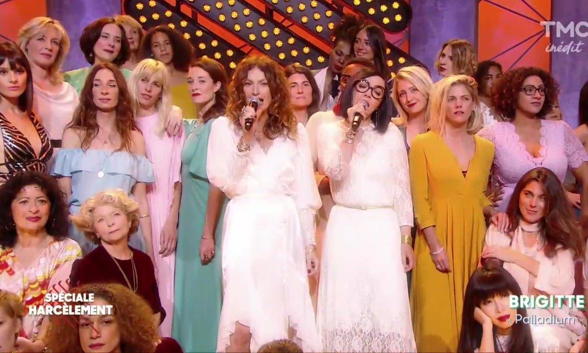 """Brigitte : """"Palladium"""" en live dans Quotidien"""