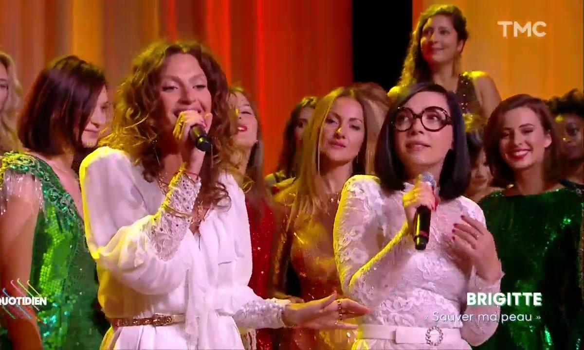 """Brigitte : """"Sauver ma peau"""" en live pour Quotidien"""