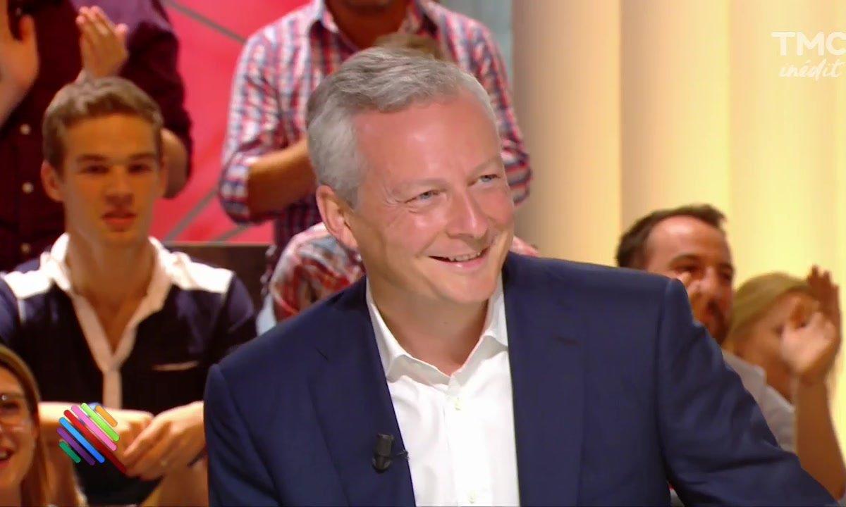Bruno Le Maire passe le grand oral de Quotidien - 2ème partie